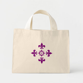 Flowers of Liz, the kingdom seal Bags