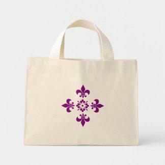 Flowers of Liz, the kingdom seal Mini Tote Bag