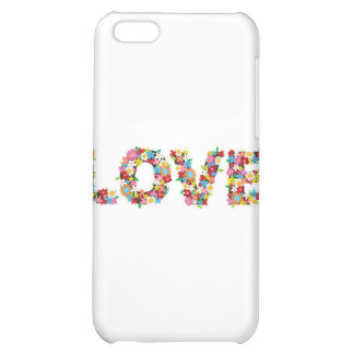 flowers of love cover for iPhone 5C