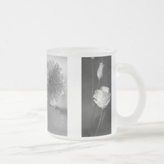 Flowers of Mine Frosted Glass Mug