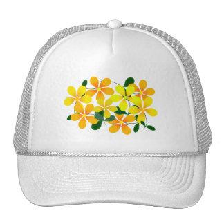 Flowers of Orange & Yellow Trucker Hats