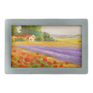 Flowers of Provence Belt Buckle