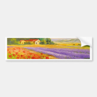 Flowers of Provence Bumper Sticker