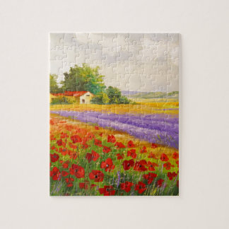 Flowers of Provence Jigsaw Puzzle