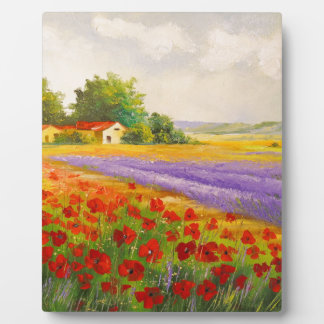 Flowers of Provence Plaque