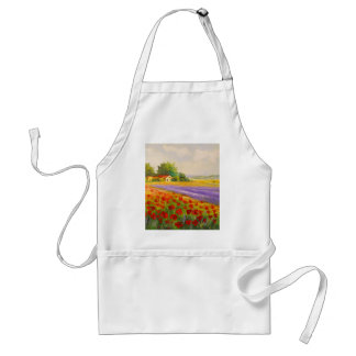 Flowers of Provence Standard Apron