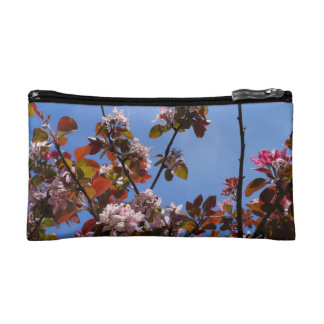 Flowers of spring cosmetic bags