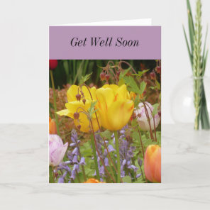 Flowers Of Tenderness Get Well Card