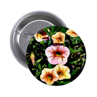 Flowers of the Field 6 Cm Round Badge