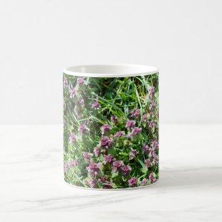 Flowers on  coffee mug