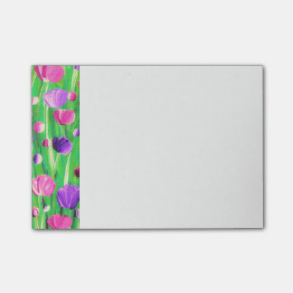 Flowers On Parade Post-it Notes