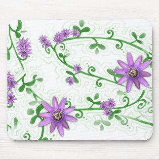 Flowers on Vines Mousepad