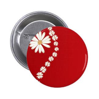 flowers online 6 cm round badge