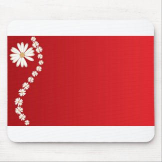flowers online mouse pad
