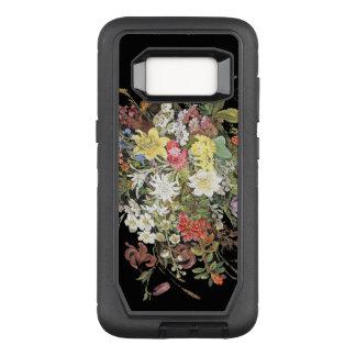 Flowers OtterBox Defender Samsung Galaxy S8 Case