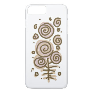 Flowers pastel iphone case