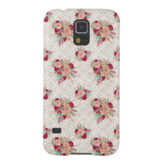 Flowers Pattern Galaxy S5 Cases