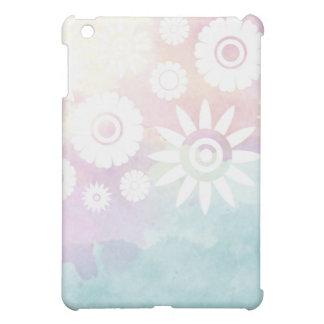 Flowers pattern iPad case