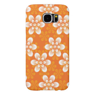 Flowers Pattern Samsung Galaxy S6 Cases
