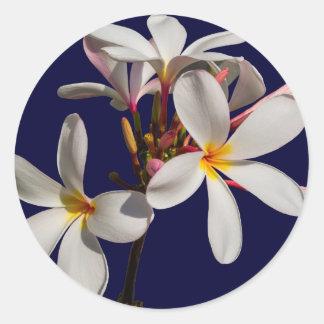 Flowers Peace Blessing Love Park Vines Destiny Round Stickers