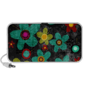 Flowers peaker iPod speakers