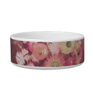 Flowers Pet Bowl