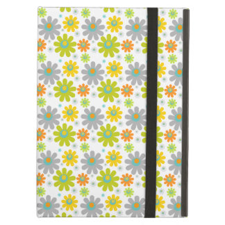 Flowers, Petals, Blossoms - Red Green Blue Yellow Cover For iPad Air
