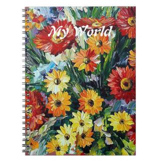 Flowers Photo Notebook