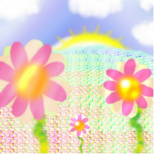 Flowers Photo Cutout