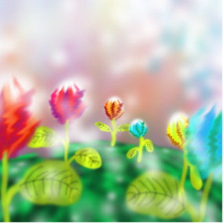 Flowers Photo Cutouts