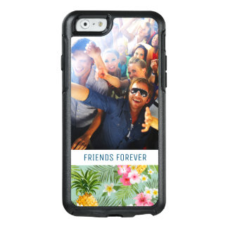Flowers & Pineapples | Add Your Photo & Text OtterBox iPhone 6/6s Case
