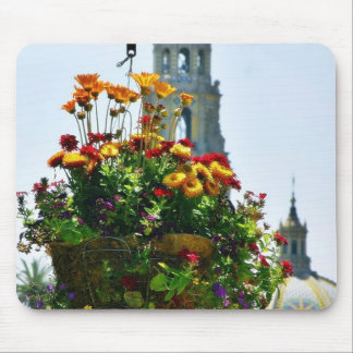 Flowers Planters Domes Towers Mousepad