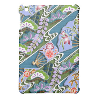 Flowers, plants and fans case for the iPad mini