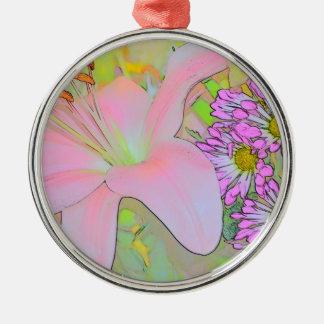 Flowers Pretty Colourful Ornament