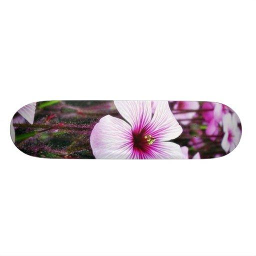 Flowers Purple Skate Decks