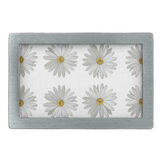 flowers rectangular belt buckles
