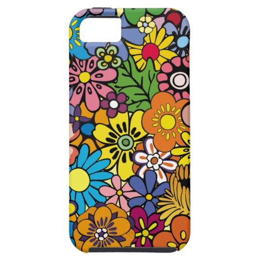 Flowers Retro iPhone 5 Cases