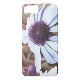 flowers retro violet iPhone 8/7 case