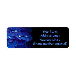 Flowers Return Address Label