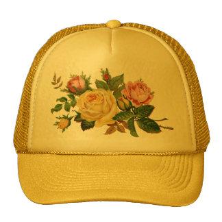 flowers,roses cap
