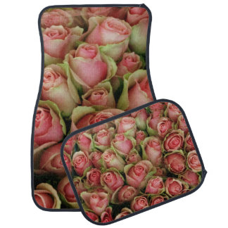 Flowers/roses Car Mat