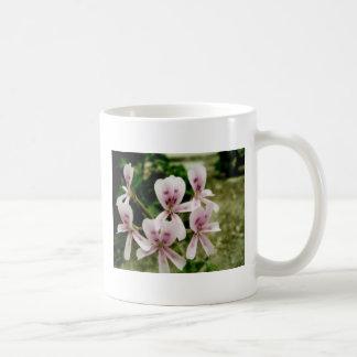 Flowers second basic white mug