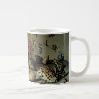 Flowers, Shells and Insects Balthasar van der Ast Basic White Mug