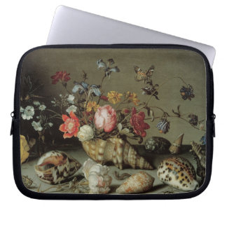 Flowers, Shells and Insects Balthasar van der Ast Computer Sleeve