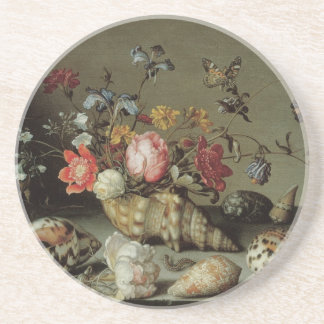 Flowers, Shells and Insects Balthasar van der Ast Drink Coasters