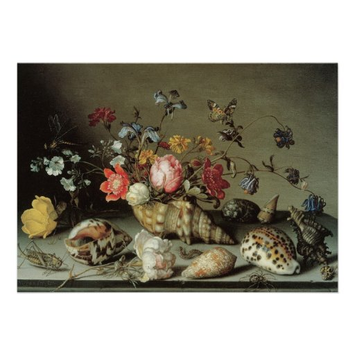Flowers, Shells and Insects Balthasar van der Ast Announcements