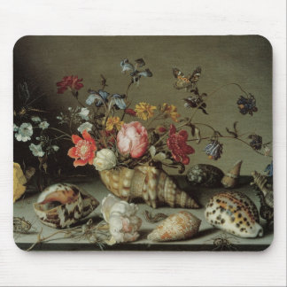 Flowers, Shells and Insects Balthasar van der Ast Mouse Mat