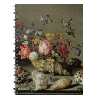 Flowers, Shells and Insects Balthasar van der Ast Note Book