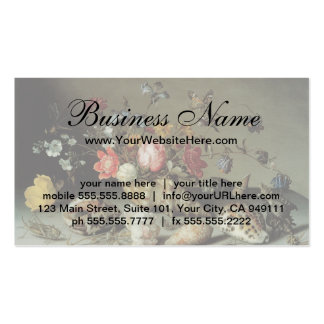 Flowers, Shells and Insects Balthasar van der Ast Pack Of Standard Business Cards