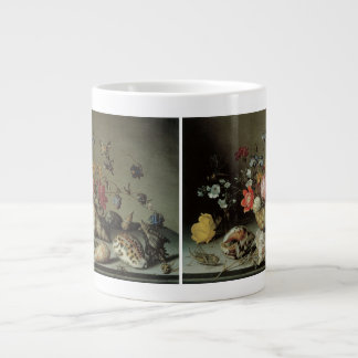 Flowers Shells and Insects Balthasar van der Ast Jumbo Mugs